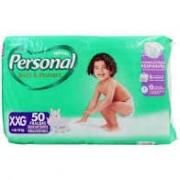 Fralda Personal soft & protect tam XXG com 50 unidades