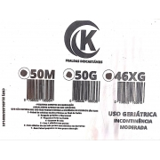 Fralda Vitacare G com 50 unidades 2° linha ( com possíveis defeitos de fabrica)