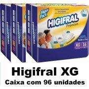 Higifral premium Extra-Grande caixa com 96 unidades