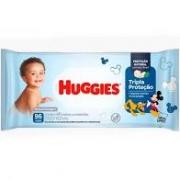Lenço umedecido tripa proteção Huggies com 96 unidades