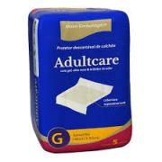 Lençol protetor  multiuso Adultcare G com 5 unidades 148cmX82cm