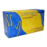 Luvas de látex com pó Supermax Extra-Pequeno com 100 unidades