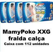 Mamypoko fralda-calça Super Extra Grande caixa com 112 unidades