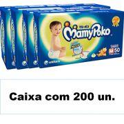 Mamypoko Super seca Médio caixa com 200 unidades