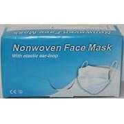 Mascara Non-woven face mask com 50 unidades