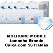 Molicare Mobile Grande caixa com 56 unidades
