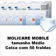 Molicare Mobile Médio caixa com 56 unidades