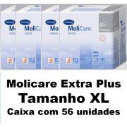 Molicare premium slip extra plus Extra-Grande caixa com 56 unidades