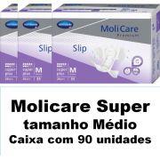 Molicare premium super Médio com 90 unidades