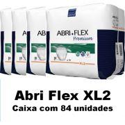 Roupa íntima Abri-Flex Extra-Grande XL2 com 84 unidades