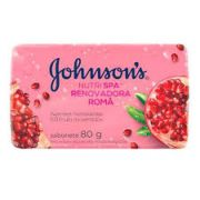 Sabonete pedra Johnsons  Daily care Romã kit com 12 barras