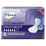 Tena lady discreet Maxi Nigth com 8 unidades