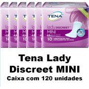 Tena lady discreet Mini caixa com 120 unidades