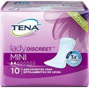 Tena lady discreet Mini com 10 unidades