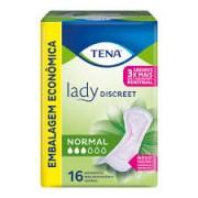 Tena Lady Discreet Normal com 16 unidades
