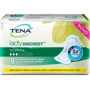 Tena lady discreet Normal com 8 unidades