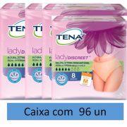 Tena lady discreet - Roupa Íntima Média com 96 unidades