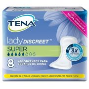 Tena lady discreet Super com 8 unidades