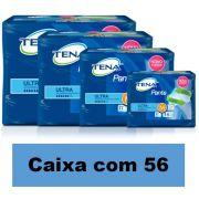 TENA PANTS ULTRA MEDIO CAIXA COM 56 UNIDADES