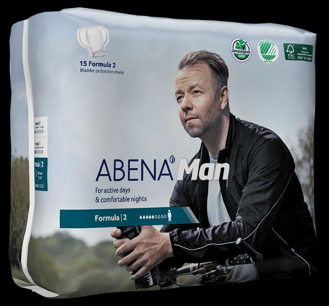 Abena Abri-Man formula 2 absorvente masculino com 14 unidades