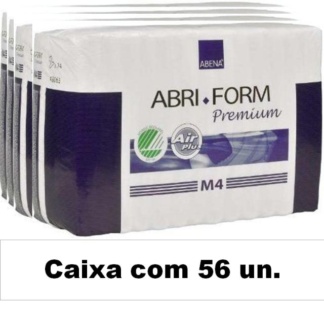 Abri-Form premium média M4 com 56 unidades