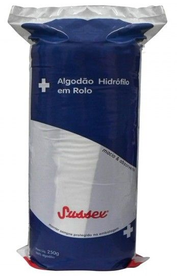 Algodao rolo 500g  sussex