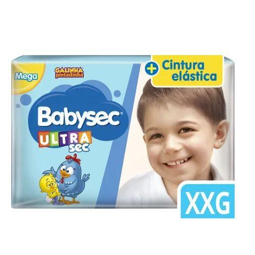 Babysec Galinha pintadinha Super Extra Grande com 30 unidades