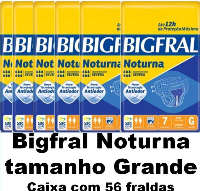 Bigfral Noturna Grande caixa com 56 unidades