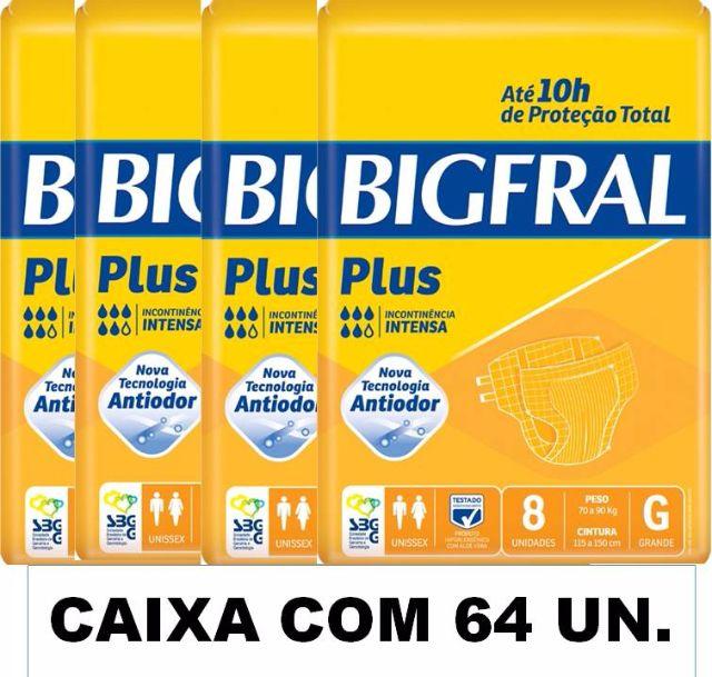 Bigfral plus Grande caixa com 64 unidades