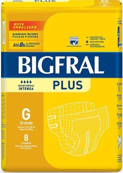 Bigfral plus Grande com 8 unidades