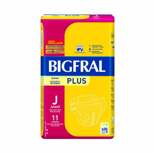 Bigfral plus Juvenil com 11 unidades