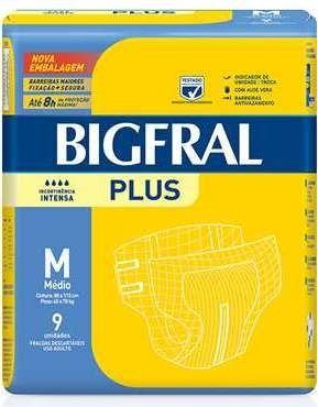 Bigfral plus Média com 9 unidades