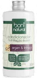 Condicionador Boni Natural argan & linhaça 500ml
