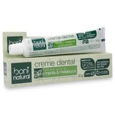Creme dental sem flúor Boni Natural menta & malaleuca 90g
