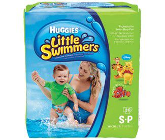 Huggies Little Swimmers Pequeno com 12 unidades