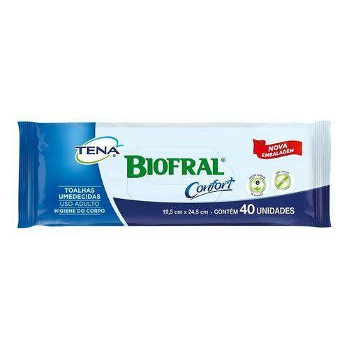 Lenço Umedecido biofral com 40 unidades