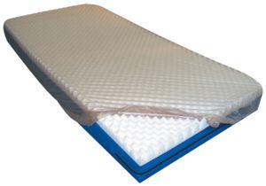 LENÇOL PLASTICO PVC COM ELASTICO BEGE 1,60X2,30M CASAL