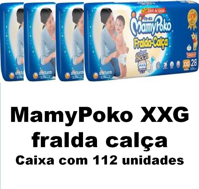 Mamypoko fralda-calça Super Extra Grande caixa com 96 unidades