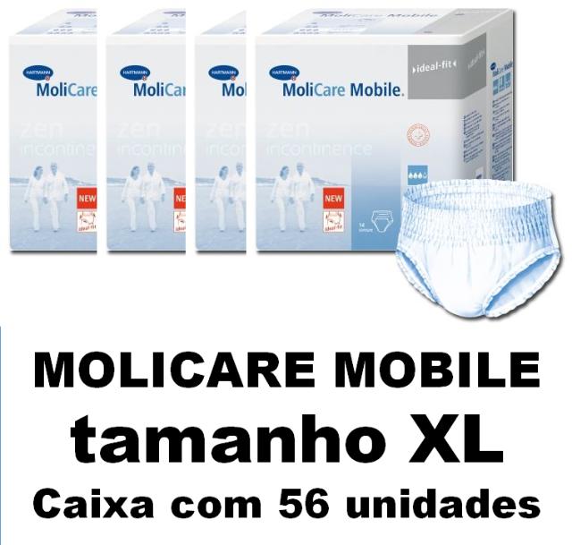 Molicare Mobile Extra-Grande com 56 unidades