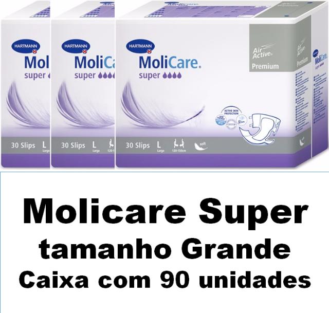 Molicare premium super Grande com 90 unidades