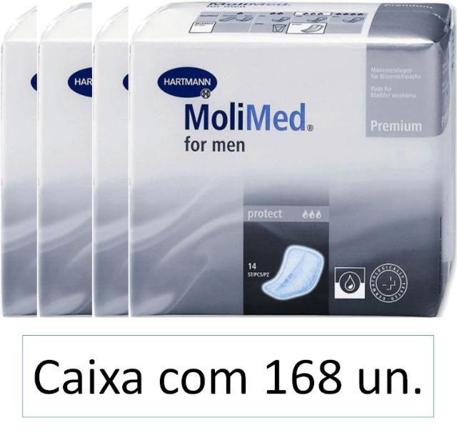 Molimed for men Protect caixa com 168 unidades