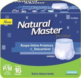 Natural Master prime P/M com 16 unidades