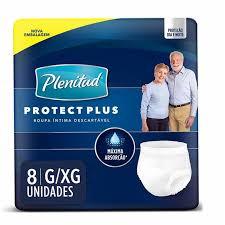 Plenitud Protect Plus G/XG com 8 unidades