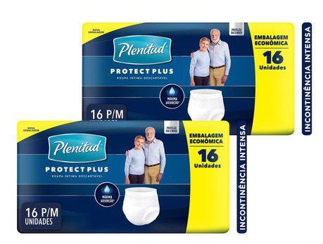 Plenitud Protect Plus P/M caixa com 32 unidades