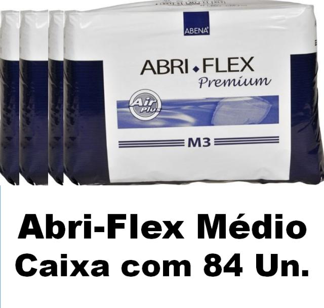 Roupa Íntima Abri-Flex Médio M3 caixa com 84 unidades