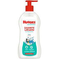 Sabonete liquido extra suave Huggies 200ml