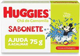 Sabonete pedra Huggies chá de camomila 75g