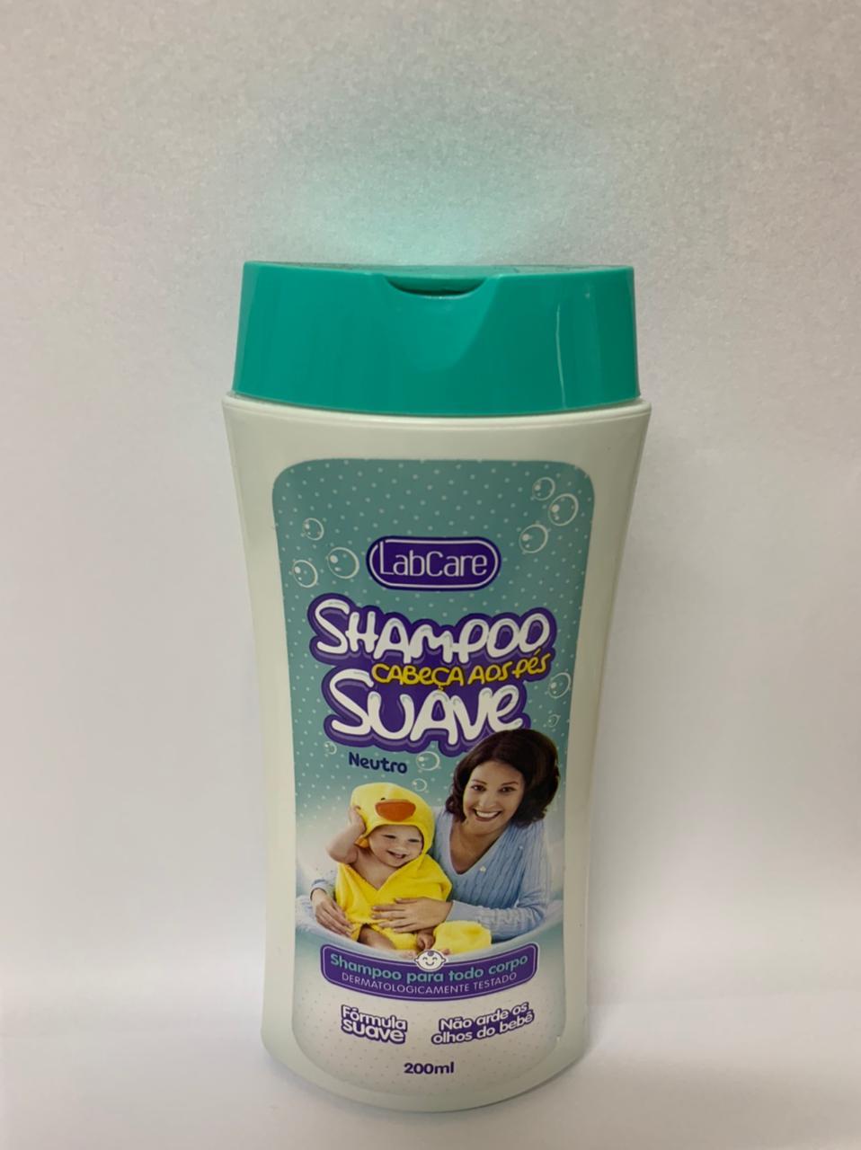 Shampoo Labcare cabeça aos pes 200ml