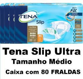 Tena Slip Ultra Care Médio caixa com 80 unidades