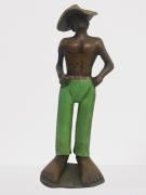 Escultura Homem do Pé Grande 2 - Verde 36-13